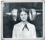 Hair drying lamps 1928