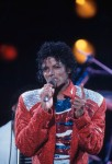 Michael Jackson on Victory Tour