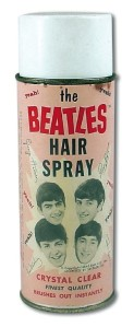 beatles hair sray