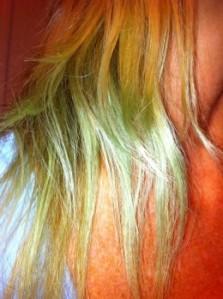 chlorine hair