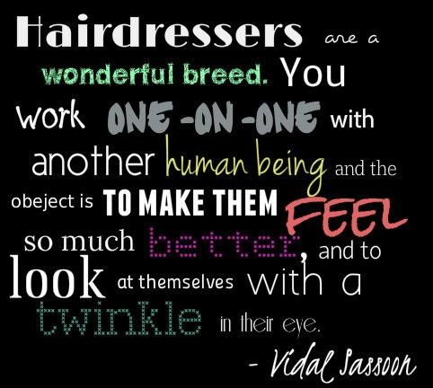 hairdresser quotes judy de luca