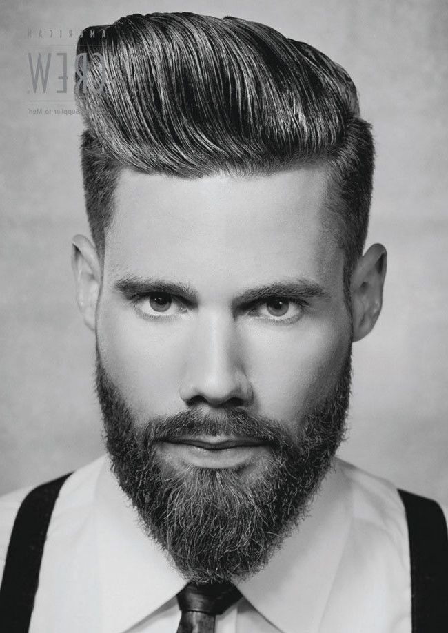 The Latest Rage In Men S Haircuts And Beards Judy De Luca