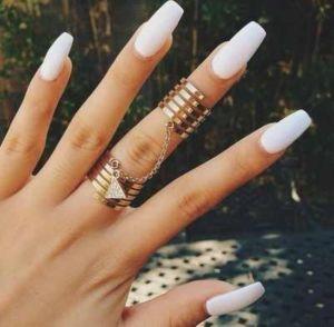 nail shape coffin